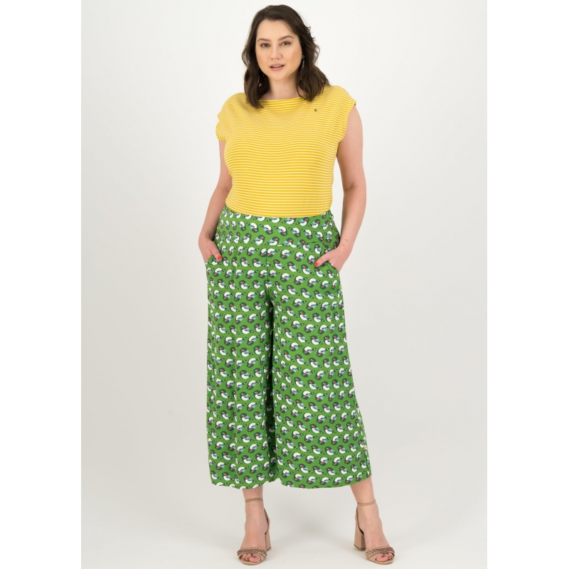 Blutsgeschwister 7/8 Hose In Fully Bloom Pantalon